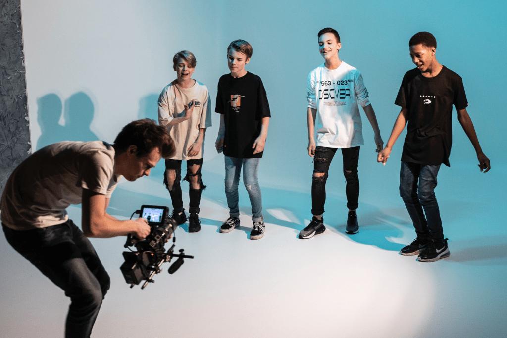 Bedrijfsfotografie - T-Square boyband